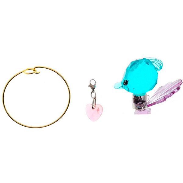 все цены на Crystal Surprise 45707 Кристал Сюрприз Фигурка Павлин + браслет и подвески