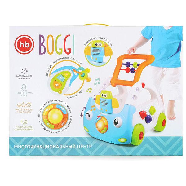 """Happy Baby 330085 Игрушка-каталка """"BOGGI"""""""