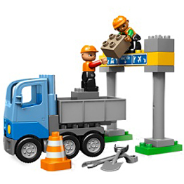 Lego Duplo 5652 Конструктор Строительство дороги