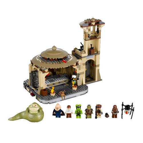 LEGO Star Wars 9516_1 Конструктор ЛЕГО Звездные войны Дворец Джаббы