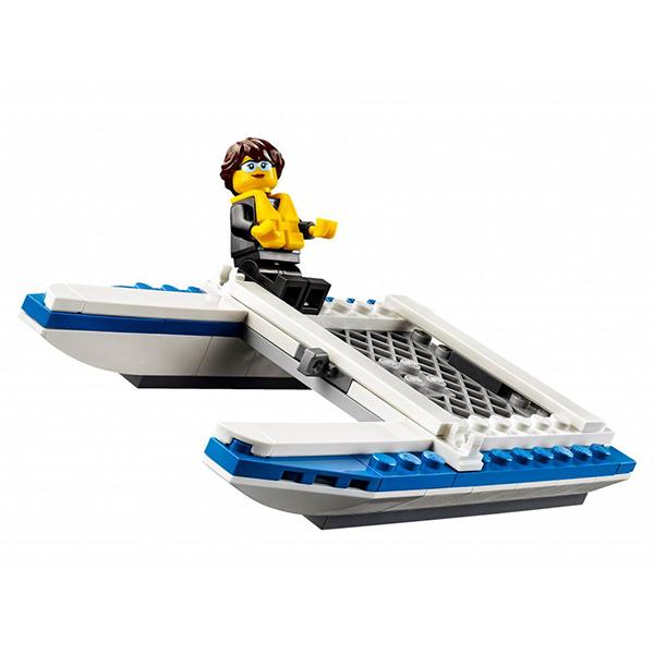 Lego City 60149 Лего Город Внедорожник с прицепом для катамарана