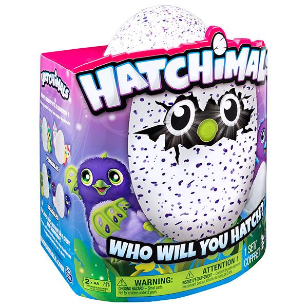 Hatchimals 19100-DRAG-PURP Хетчималс Дракоша - интерактивный питомец, вылупляющийся из яйца
