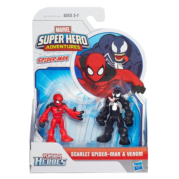 Hasbro Playskool Heroes A7109 Фигурка героев Марвел 2-в-1 (в ассортименте)