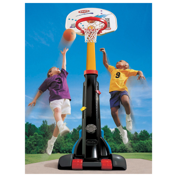 Little Tikes 4339 Литл Тайкс Баскетбольный щит раздвижной (210 см)