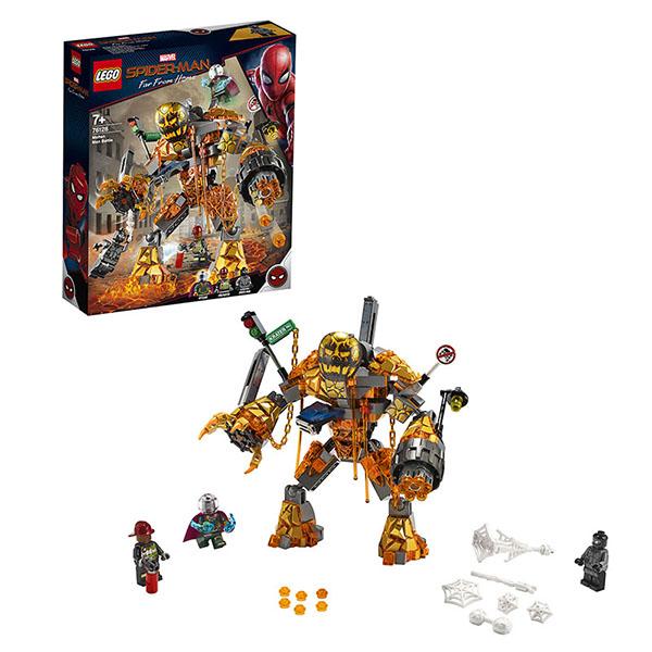 LEGO Super Heroes 76128 Конструктор ЛЕГО Супер Герои Бой с Расплавленным Человеком цены онлайн