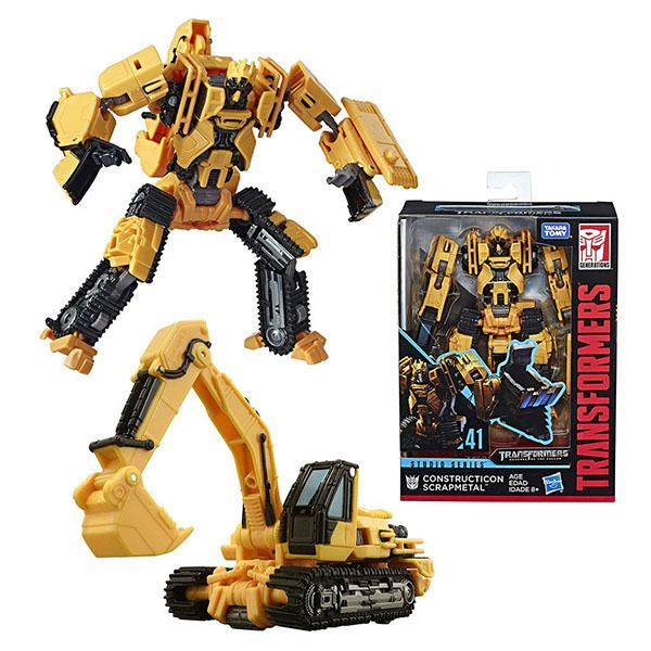 Hasbro Transformers E0701/E4701 Трансформер Коллекционный Конструктикон Скрепметал 20 см hasbro transformers e0701 трансформер коллекционный 20 см lockdown
