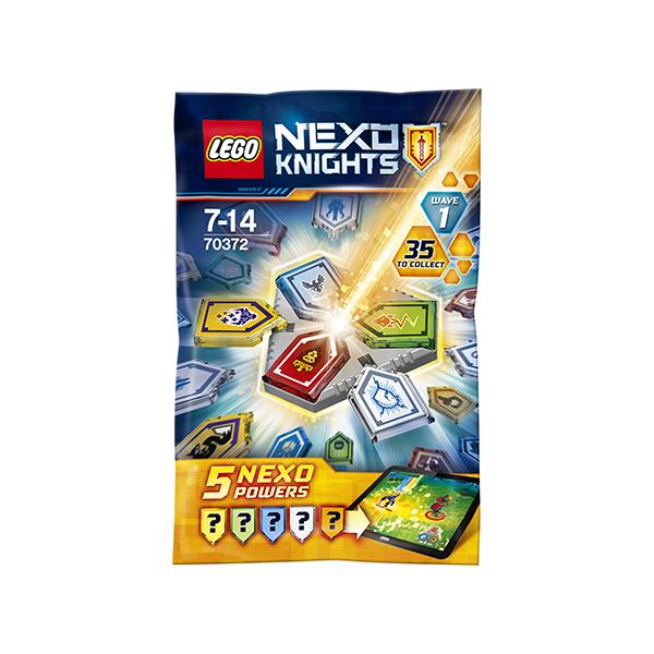 Lego Nexo Knights 70372 Конструктор Лего Нексо Комбо NEXO Силы 1