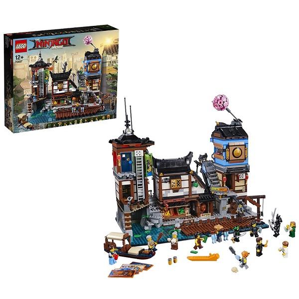 LEGO Ninjago 70657 Конструктор Лего Ниндзяго Порт Ниндзяго Сити конструктор lego ninjago порт ниндзяго сити 70657