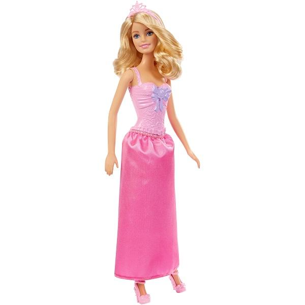 Mattel Barbie DMM07 Барби Принцессы в розовом mattel barbie барби с летающим котом попкорном