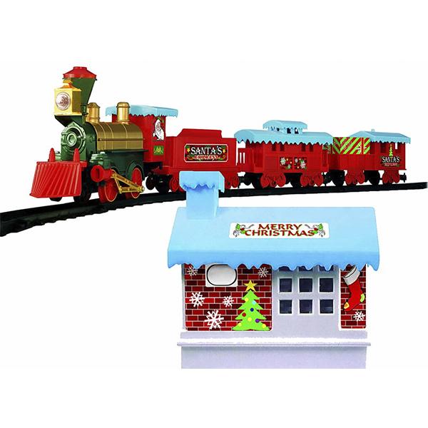 Eztec 60985 Железная дорога CHRISTMAS TRAIN (53 части)