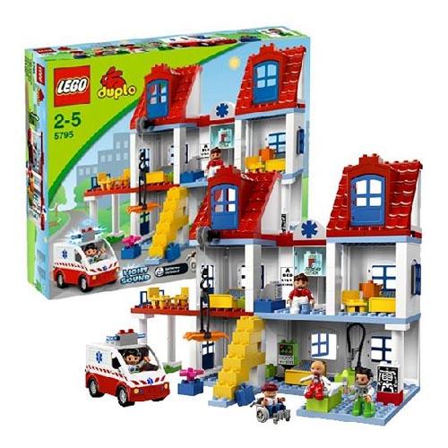 Лего Дупло 5795 Конструктор Большая городская больница