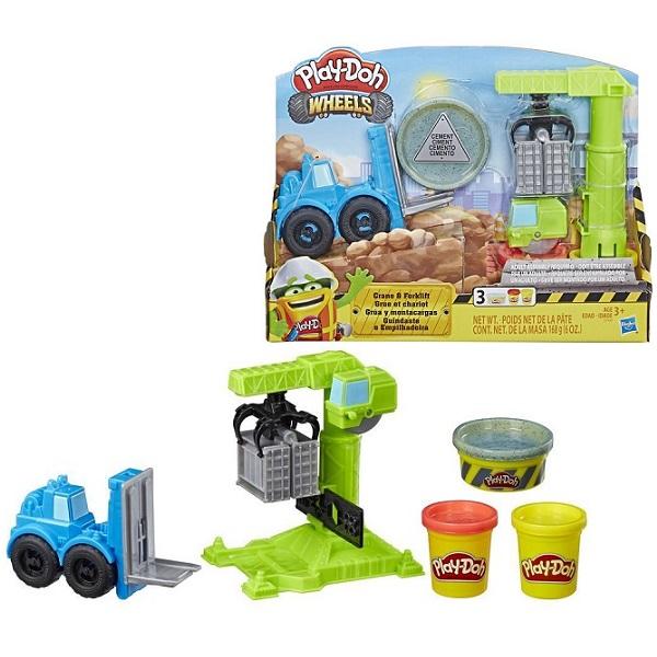 Hasbro Play-Doh E5400 Игровой набор Кран-Погрузчик hasbro hasbro набор play doh кран page 5 href