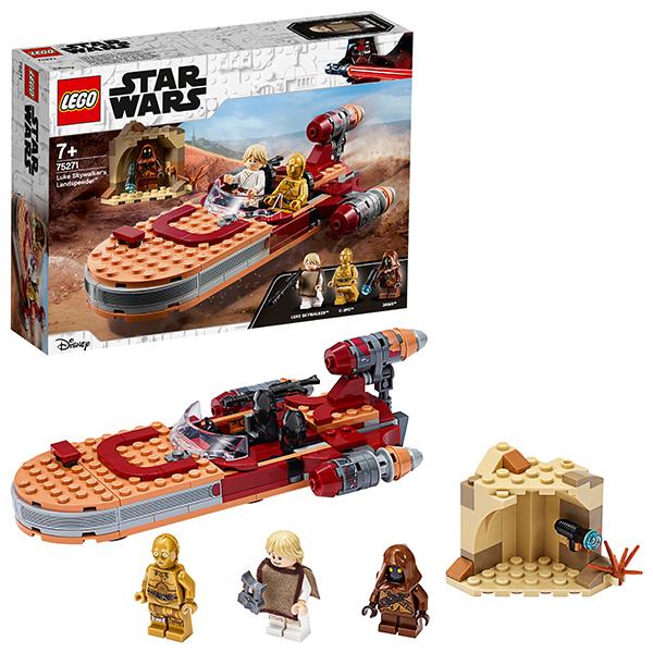 цена на LEGO Star Wars 75271 Конструктор ЛЕГО Звездные войны Спидер Люка Сайуокера