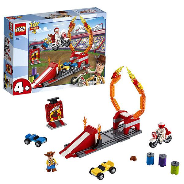 конструктор lego история игрушек 4 весёлый отпуск 10769 LEGO Juniors 10767 Конструктор ЛЕГО Джуниорс История игрушек-4: Трюковое шоу Дюка Бубумса