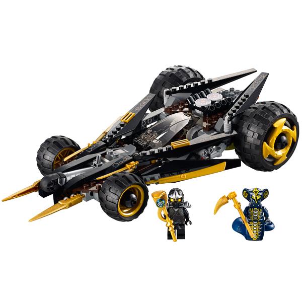 Lego Ninjago 9444 Конструктор Лего Ниндзяго Атака Коула