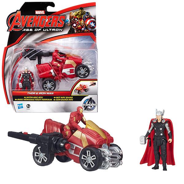 Hasbro Avengers B0448 Мини-фигурки Мстителей Делюкс (в ассортименте) hasbro avengers avengers b5769 боевая машина мстителей в ассортименте