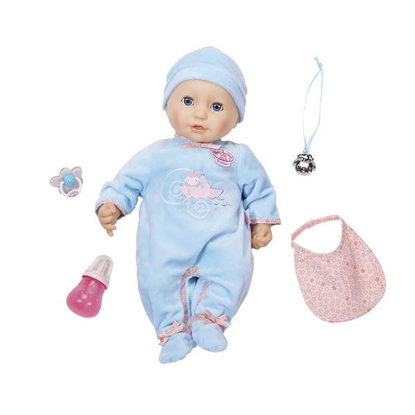 Zapf Creation Baby Annabell 794-654 Бэби Аннабель Кукла-мальчик многофункциональная