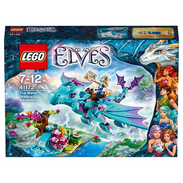 Lego Elves 41172 Конструктор Лего Эльфы Приключение Дракона воды