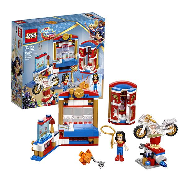 Lego Super Hero Girls 41235 Лего Супергёрлз Дом Чудо-женщины велосипед navigator super hero girls 18 разноцветный двухколёсный