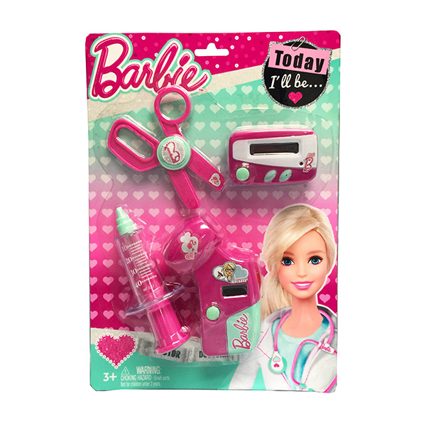 Corpa D121A Игровой набор юного доктора Barbie на блистере