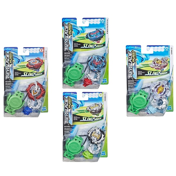 Hasbro Bey Blade E4603 Бейблэйд СлингШок с пусковым устройством (в ассортименте) bey blade волчок spryzen