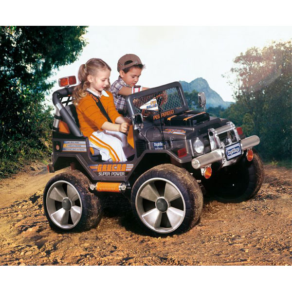 Детский электромобиль Peg-Perego OD0501 Gaucho SuperPower (Super Power)