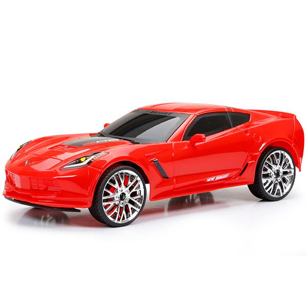 New Bright 1222-2 Игрушка р/у Corvette Z06 (Красный) motormax модель автомобиля corvette 1967 цвет черный