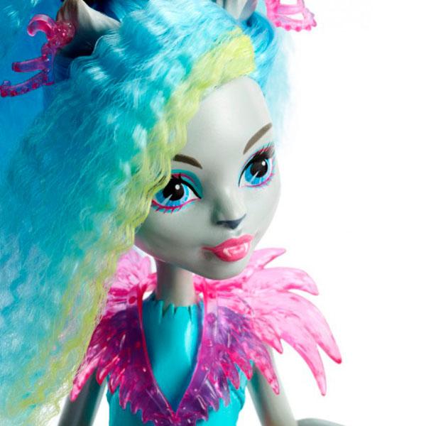 """Mattel Monster High DVH66 Школа Монстров Неоновые монстряшки """"Под напряжением"""" Сильви Тимбервулья"""