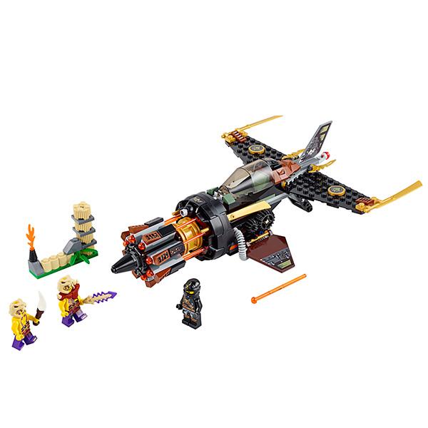 Lego Ninjago 70747 Конструктор Лего Ниндзяго Скорострельный истребитель Коула