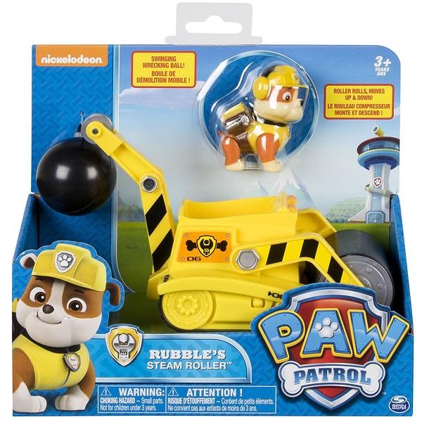 Paw Patrol 16601-Rub Щенячий патруль Машинка спасателя и щенок (Крепыш)