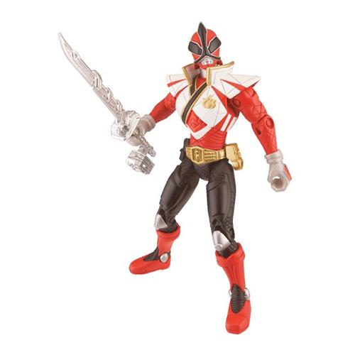 Power Rangers Samurai 31550NB Мотоцикл с фигуркой Могучего рейнджера 10 см + Фигурка самурая 10см