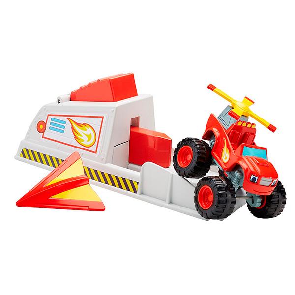 Mattel Blaze CGK15 Вспыш и чудо-машинки: Вспыш и пусковое устройство альбом для наклеек panini blaze вспыш и чудо машинки