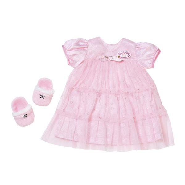 Zapf Creation Baby Annabell 700-112 Бэби Аннабель Одежда Спокойной ночи (платье и тапочки) zapf creation baby annabell 700 105 бэби аннабель одежда для прогулки