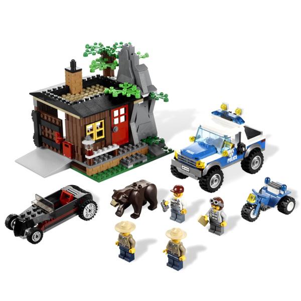 LEGO City 4438X Конструктор ЛЕГО Город Укрытие Преступника