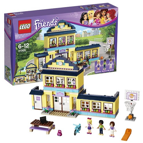 LEGO Friends 41005_1 Конструктор Лего Подружки Школа Хартлейк Сити