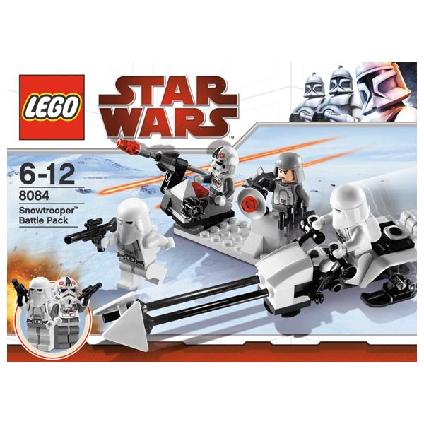 Lego Star Wars 8084 Конструктор Лего Звездные войны Боевое подразделение штурмовиков-клонов