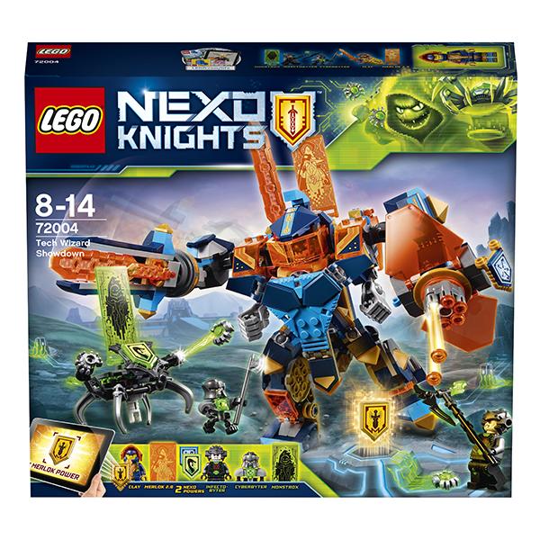 Lego Nexo Knights 72004 Конструктор Лего Нексо Решающая битва роботов