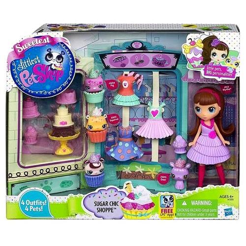 Hasbro Littlest Pet Shop A1355H Литлс Пет Шоп Игровой набор Сладкий стиль