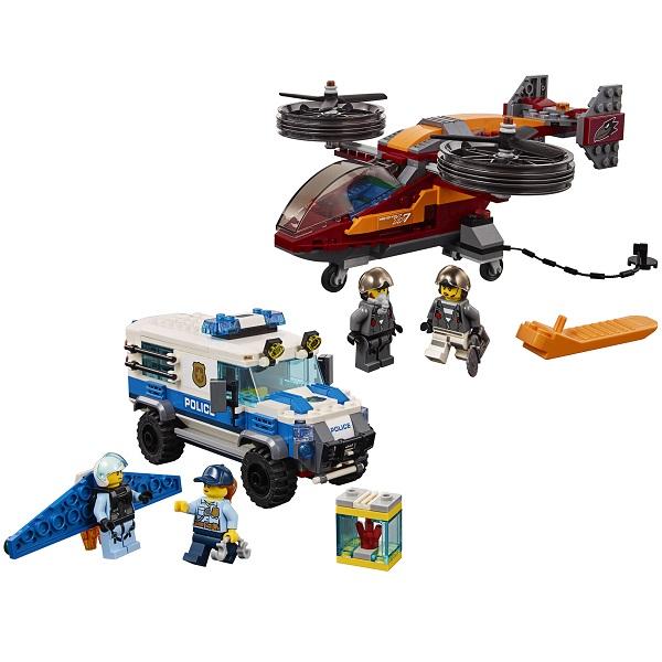 LEGO City 60209 Конструктор ЛЕГО Город Воздушная полиция: Кража бриллиантов