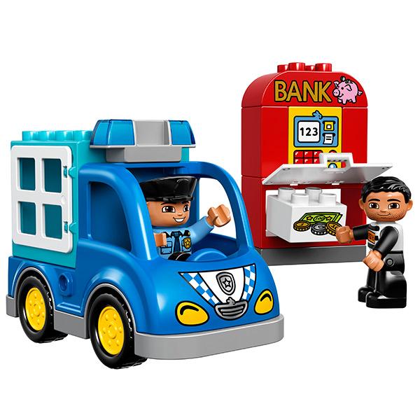 Лего Дупло 10809 Конструктор Полицейский патруль