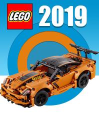 Новинки Lego 2019