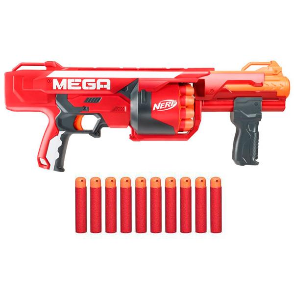 Hasbro Nerf B1269 Нерф Бластер Мега Берсеркер бластер nerf мега большой выстрел a9314