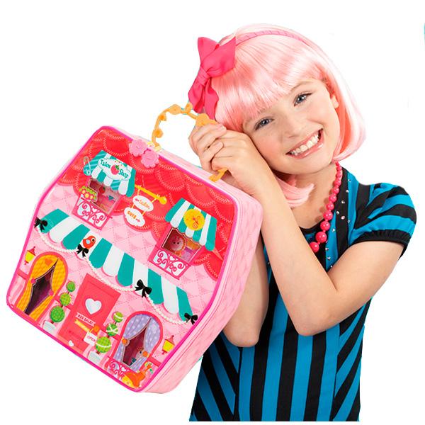 Lalaloopsy 541950 Лалалупси Домик-переноска с куклой Mini и аксессуарами