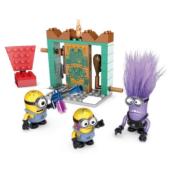 Mattel Mega Bloks DYD37 Мега Блокс Миньоны: фигурки персонажей mymei 1 комплект 12шт набор гадкий я 2 миньоны рисунок игрушки в розницу 96408