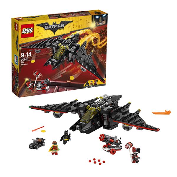 Lego Batman Movie 70916 Конструктор Лего Фильм Бэтмен: Бэтмолёт lego batman movie блокнот бэтмен96 листов в линейку
