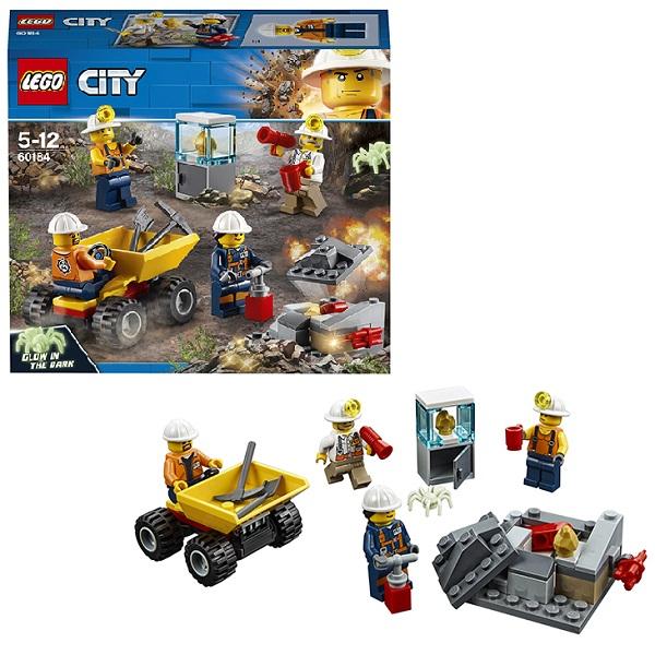 Lego City 60184 Конструктор Лего Город Бригада шахтеров lego city 60110 лего город пожарная часть
