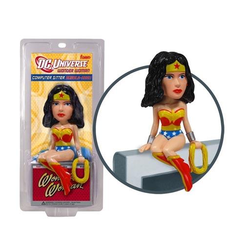 Funko 2110F Фигурка DC Comics Wonder Woman Чудо-женщина Computer Sitter Bobble Head