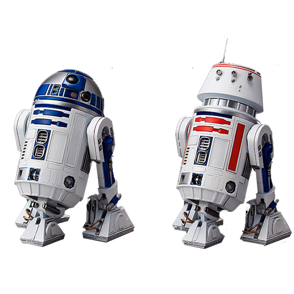 Star Wars Bandai 84615 Звездные Войны Сборная модель R2-D2 и R5-D4 1:12