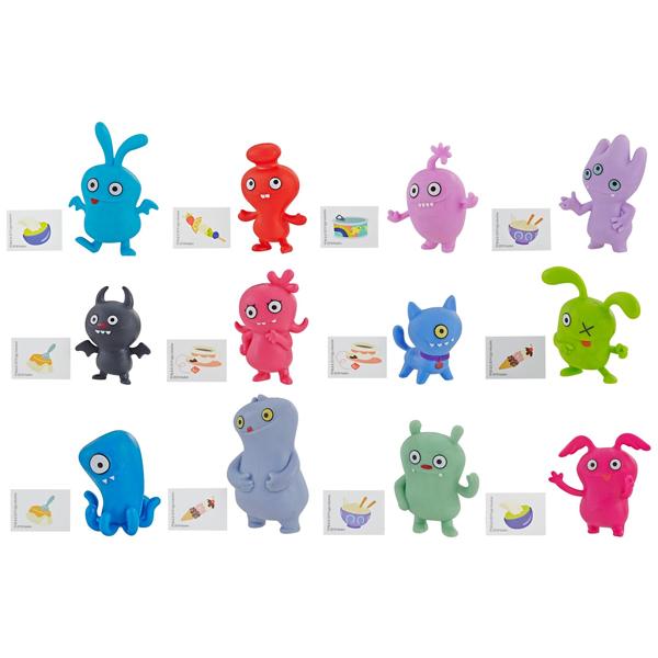 Hasbro UGLY DOLLS E4526 Аглидоллз в закрытой упаковке наклейка