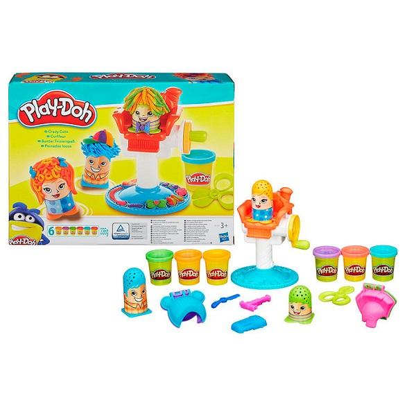 Hasbro Play-Doh B1155 Игровой набор Сумасшедшие прически play doh набор чудесный замок авроры play doh hasbro a6881